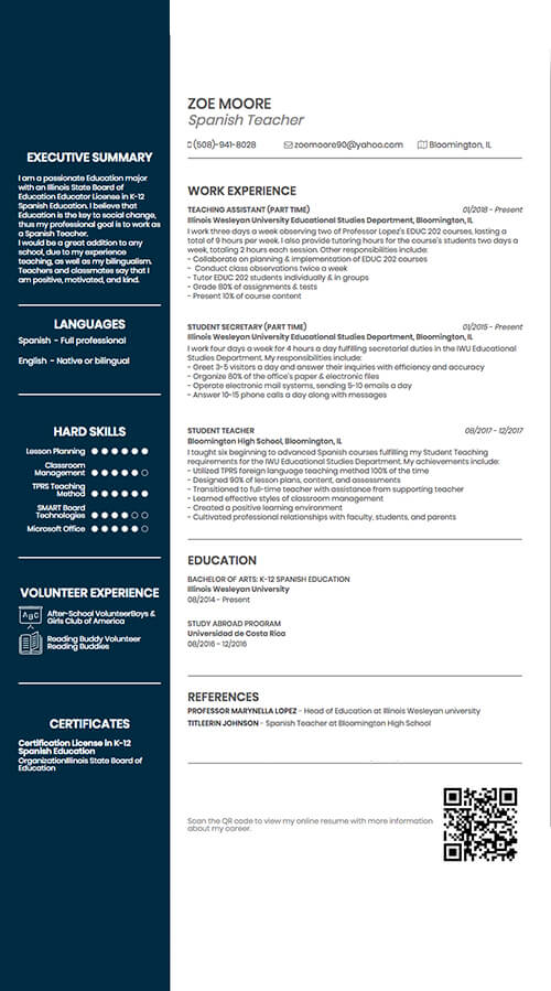 Create resume from Linkedin  Download
